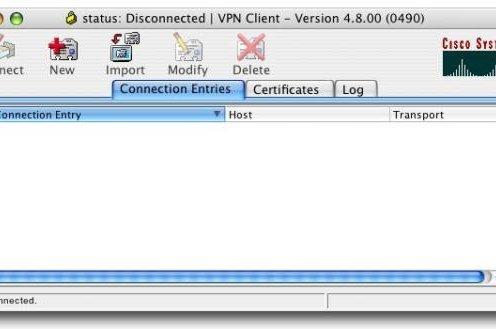 Cisco VPN Client s multimedia