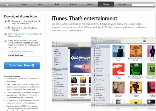 Download itunes for windows
