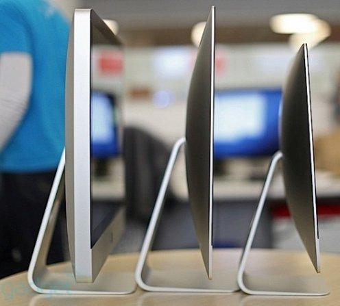 В первом тестируемом iMac