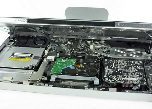 Разборка нового Apple 21,5